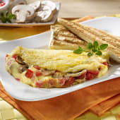 Omelettes vegetariano