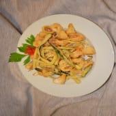 Fritturina mista del pescatore con zucchine croccanti