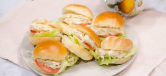 Sandwich De Pierna De Cerdo