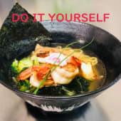 Gyokai ramen do it yourself 魚介ラーメン
