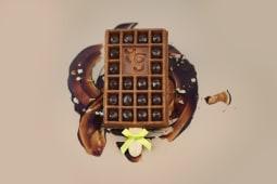 Gaufre crème chocolat Valrhona