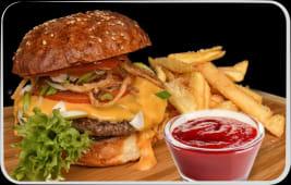 Meniu Cheeseburger + 1 COCA COLA GRATUIT