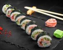 Ebi-q (sushi roll)