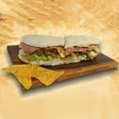 Sándwich Azteca de pollo (25 cm.)