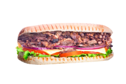 Sándwich de costillar asado (grande)