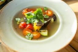 Насыщенный мясной суп (350 гр.)
