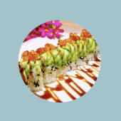 Uramaki dragon roll