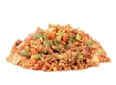 Рис зі свининою у гострому соусі (360г)