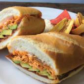 Sándwich especialidad mexicana