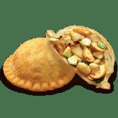 Empanada de alcachofa con champiñones