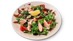 Салат з лососем та соусом Теріякі (200г)