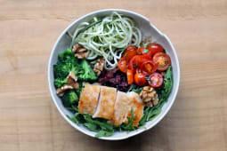 Bowl de pollo (sin gluten)