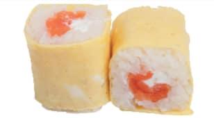 Egg saumon cheese x6