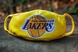 პირბადე Lakers ყვითელი