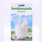Leche De Galicia Semidesnatada 1 Litro.