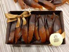 Frutta ricoperta di cioccolato fondente 70% - confezione da 300 g