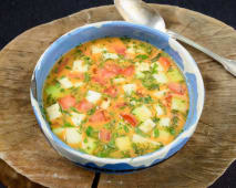 Giani – Bors de legume multicolor, dres ca pentru iubtori de viata