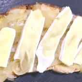 Tosta de queso brie