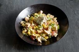 Pollo e gorgonzola