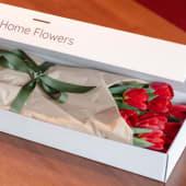 Cutie HomeFlowers - 21 lalele rosii