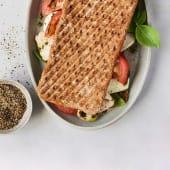 Sándwich asado