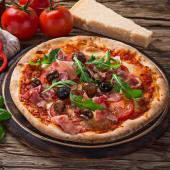 Pizza roma de masa madre