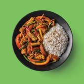 Pollo Thai (curry picante)