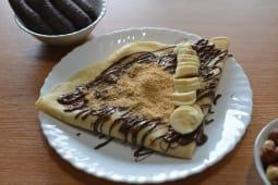 14. Palačinka Nutela, Banana, Plazma