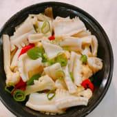 Calamar salteado con verdura china