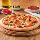 Tavuklu Acılı Pizza (Büyük)