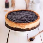 Cheesecake arándanos (porción)