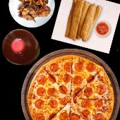Combo Pizza y Alitas