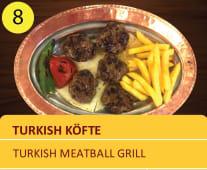 Akcabaat kofte meatball grill