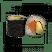 86. Hosomaki salmón y aguacate (8 uds)