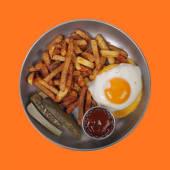 Біфштекс з яйцем (360г)