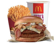 Menu Signature by McDonald's™ Double Blue Cheese & Bacon