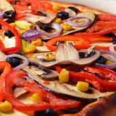 Pizza vegetariana de post Ø 30cm
