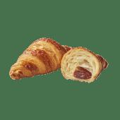 Croissant cu unt cu umplutură de zmeură