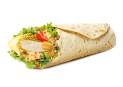 Menu Junior Wrap Spicy