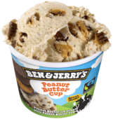 BEN & JERRY PEANUT BUTTER 100ML