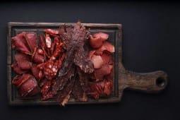 Навалом в'яленого м'яса (200г)
