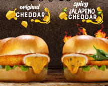 Stuffed Cheddar Original Sandwich
