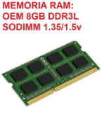 Memoria RAM DDR3 Para LAPTOP