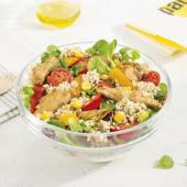 Menú Ensalada quinoa con heura vegan