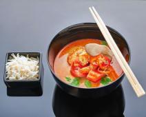 Суп Том Ям Кунг з креветками (350г)