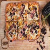 Pizza Pork & berries morada