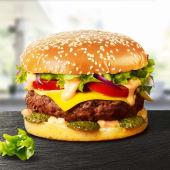 American Burger de vită