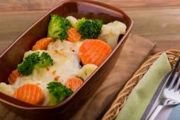 Поло з овочевим міксом (280г)