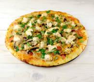 Піца Куриця з грибами ціла