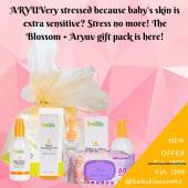 Baby Blossom Full Pack & Aryuv Baby Wipes